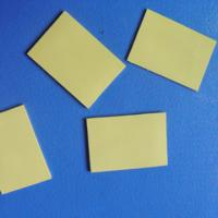 Wholesale Thermal Silicone Foam Rubber Gap Filler for Cooling Components / LED TV Yellow Soft Compressible from china suppliers