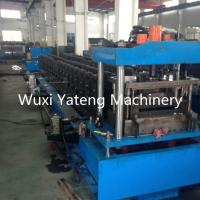 Wholesale Customized Voltage Stud And Track Roll Forming Machine With PLC Control System from china suppliers