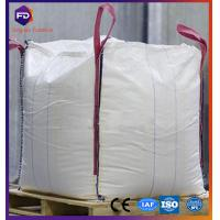 Quality Flat Bottom Flexible Intermediate Bulk Containers 1 - 1.5 Ton FIBC PP Jumbo Bag for sale