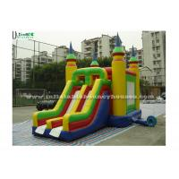 Wholesale Bright Colored Small Inflatable Bouncy Castles With Slide  for Children from china suppliers
