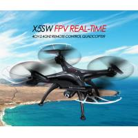 Wholesale X5SW WIFI FPV Real-Time RC Drone 2.4G 4CH Headless RC Quadcopter Camcorder W/ HD Camera from china suppliers