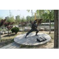 Wholesale Bronze Tai Chi Kung Fu man Sculpture For City Decoration from china suppliers