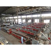 Wholesale High Efficiency WPC Production Line / WPC Profile Single Screw Extruder from china suppliers