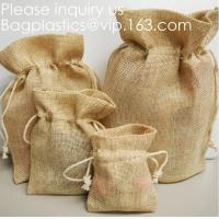Wholesale Brulap Candy Bags with Ribbon String Birthday Wedding Party Gift Bags Jewelry Pouches DIY Craft Party Favor Jute Gift Ba from china suppliers