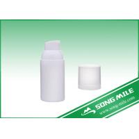 Wholesale Wholesale PP White Plastic Airless Bottle in Different Capacity from china suppliers
