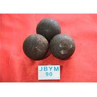 Wholesale Mines D90mm Unbreakable Forged Grinding Steel Ball High Core Hardness 59hrc - 60hrc from china suppliers