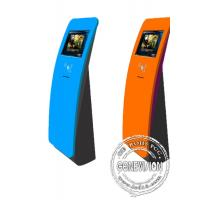 Wholesale Interactive touch screen kiosk floor stand with card reader from china suppliers