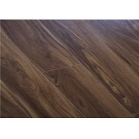 Wholesale Acacia Wood Click Lock V Groove Laminate Flooring Long Plank Orange-red from china suppliers
