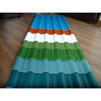 Wholesale customized color CGCC, DX51D Z adornment Pre painted Corrugated steel Roof Sheets / Sheet from china suppliers