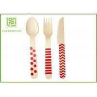 Wholesale Beautiful Eco Friendly Cutlery Cutlery Special Handle Tiny Wooden Spoons For Cake from china suppliers