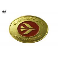 Wholesale Zinc Alloy Material Gold Collector Coins , Red Color Fill Elongated Navy Challenge Coins from china suppliers