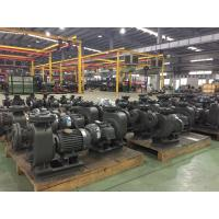 Buy cheap Horizontal Electric Self Priming Sewage Pump , Black End Suction Centrifugal Pump from wholesalers