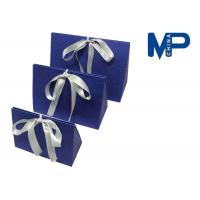 Wholesale Personalized paperboard gift wrapping boxes decorated Ribbon and Knob from china suppliers
