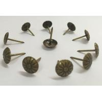Wholesale Antique Bronze Sofa Bubble Nail Flower Desige Furniture Hardware Sofa Accessories from china suppliers