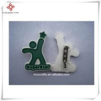 Quality Accept Customized beautiful design and logo handmade badges for clothes for sale