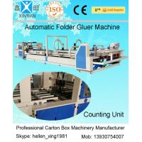 Wholesale Automatic Corrugated Box Folder Gluer / Carton Folding Gluing Machine 380V from china suppliers