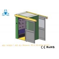 Buy cheap Personal Air Shower Room Auto Single - Leaf Slidng Doors For Double People from wholesalers