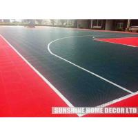 Wholesale Recycled Athletic Floor Mats , Kitchen / Outdoor Basketball Court Flooring from china suppliers