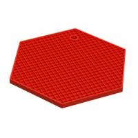Wholesale Trellis hexagon Honeycomb silicone insulation table mat from china suppliers