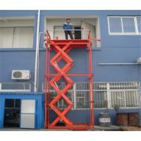 Wholesale 3t High strength steel Hydraulic Lift Platform QT treatment for Warehouse from china suppliers