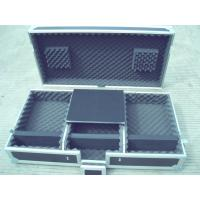 Wholesale Flight Case, Material is of Aluminum With Good Wood, Black Color For Audio And Light, Wood Color Can Be Requested from china suppliers