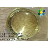 Wholesale Yellow Oil Liquid Anabolic Injectable Steroids , Legal Steroids Injections CAS 303-42-4 from china suppliers