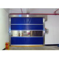 Wholesale Industrial High - Wind Area High Speed Door With Strong Wind Bar AC 220V - 240V from china suppliers