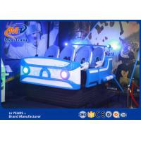 Wholesale Space Ship Virtual Reality Cinema / 9d VR Simulator Hight Resolution With Bule LED light For Six Player from china suppliers
