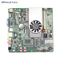Wholesale ZC-1037U-6C Industrial PC Motherboard With HD Graphics Card 1080P Playing from china suppliers