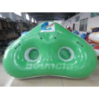 Wholesale Colorful 0.9mm PVC Tarpaulin 2 Riders Inflatable Ski Tubes For Water Games from china suppliers