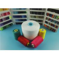 Wholesale Eco - friendly Raw White 20S / 3 100% Polyester Spun Yarn for Sewing Thread from china suppliers