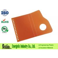 Wholesale Thermoforming Polypropylene Sheets , 5mm PP Orange Plastic Sheet from china suppliers