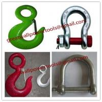 Wholesale D-Shackle shackle, Bow Shackle, Shake-proof shackle,Heavy shackle from china suppliers