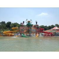 Wholesale Aqua Park Giant Water Playground Equipment With Water House / Water Slide from china suppliers