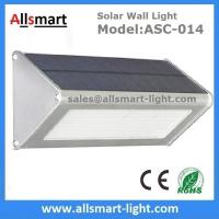 Wholesale 1000LM Radar Sensor 48LED Solar Wall Light Wireless Security Garden Wall Mounted Yard Lamp from china suppliers