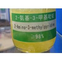Quality CAS 1603-40-3 Pharmaceutical Intermediates 2 Amino 3 Methylpyridine Yellowish Crystal for sale