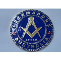 Wholesale Gold Plating Iron or Brass or Copper A.F. & A.M. Adhesive Badge from china suppliers
