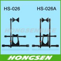 Quality HS-026A Unique and stable bicycle shop display steel rack stand for sale