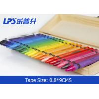 Wholesale Wax Mixed Oil / Pigment Multi Colored Crayons 24 Assorted Colored from china suppliers