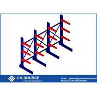 Wholesale Warehouse Cantilever Metal Racks , Unisource Industrial Cantilever Shelving Systems from china suppliers