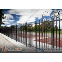 Wholesale Black Color Garrison Tubular Fencing for sale 1800X2400mm | China Garrison Fence Supplier from china suppliers