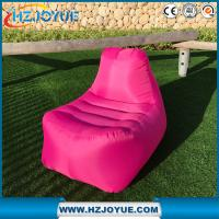 Buy cheap New Design OEM Logo Fast inflatable lounger sofa Sleeping air lounge sofa  hangout laybag.air chair from wholesalers