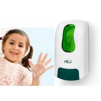 Wholesale Green Lockable Kids Automatic Soap Dispenser , refillable foam soap dispenser from china suppliers
