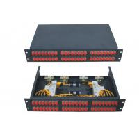 Wholesale Dummy drawer 48 port Fiber Terminal Box for FC SC ST Adapter / CATV networks from china suppliers