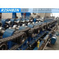 Wholesale Galvanized Steel Z Purlin Roll Forming Machine Hydraulic Punching from china suppliers
