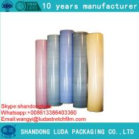 Buy cheap Colored LLDPE Stretch Film Raw Material Stretch Film Plastic Film Made In CHINA from wholesalers