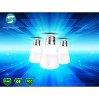 Wholesale Green Energy Saving LED Light Bulb B22 3W Plastic Warm White 180 Degree from china suppliers