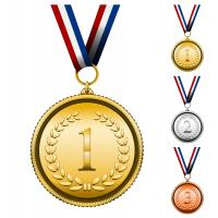 Wholesale Custom sports metal medal holder with ribbon from china suppliers