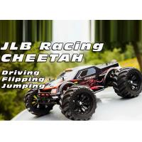 Quality Metal Chassis Brushless Electric RC Cars And Trucks 2.4 GHZ 2 Channel for sale