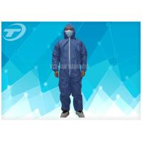 Wholesale Professional SMS Fabric Disposable Coverall Suit Comfortable For Painters from china suppliers